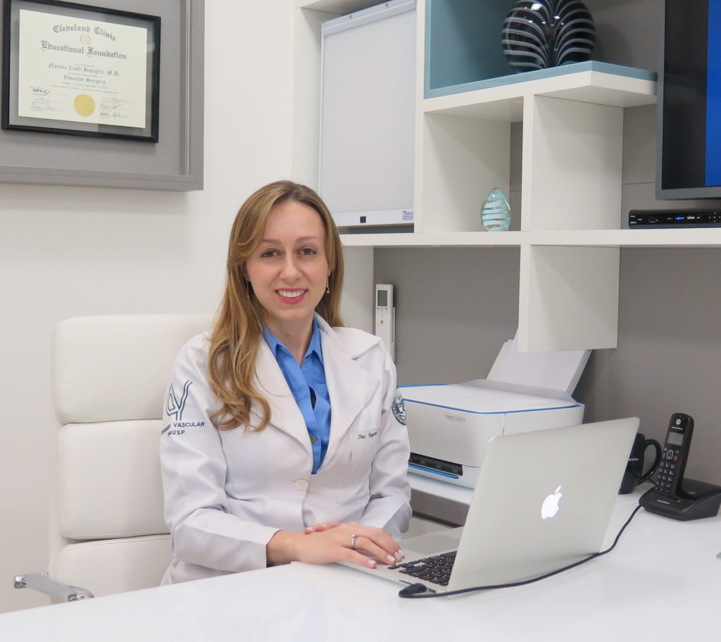 Dra. Nayara Cioffi Batagini - Cirurgia Vascular em São Paulo